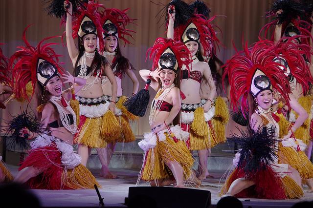 PENTAX K-3 ハワイアンズのグランドポリネシアンショー