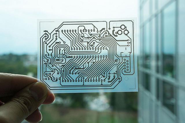 Instant Inkjet Circuts 銀ナノインクをインクジェットプリンターで印刷して即席電子回路作成