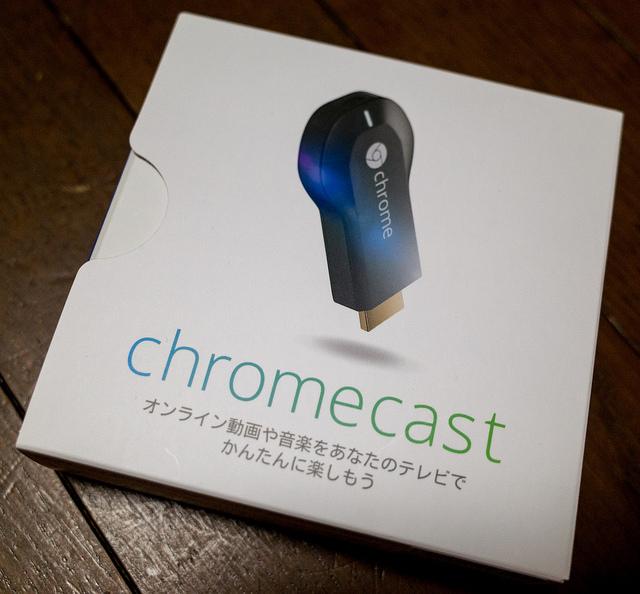 Google Chromecast 簡単にYouTube動画をテレビ表示