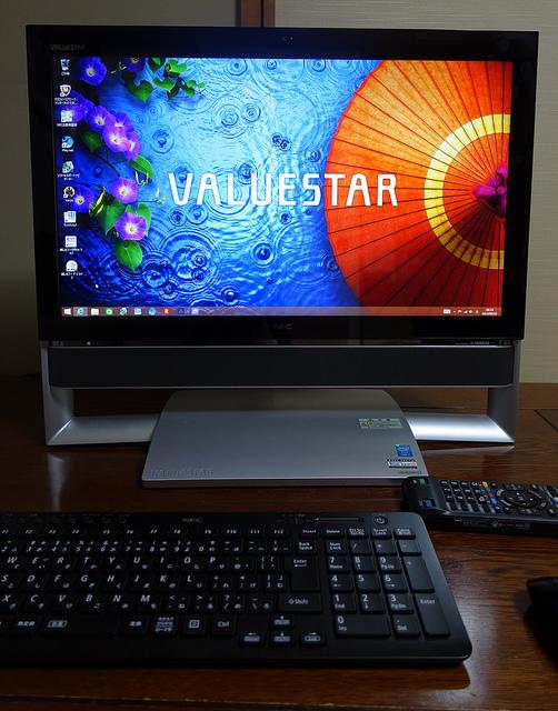 NEC VALUESTAR GタイプN テレビもパソコンも1台でストレスなく楽しみたい人におすすめ