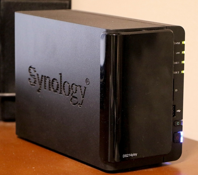 Synology DiskStation DS214play パフォーマンスの良いNAS メディアセンターとしてとても便利