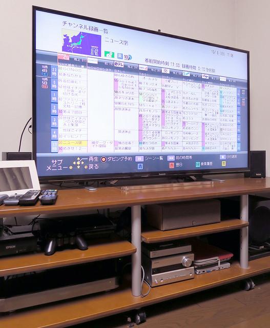 Panasonic 4KビエラTH-58AX800F+全録DIGA DMR-BXT970+DIGAモニターUN-DM10C1の最強セット