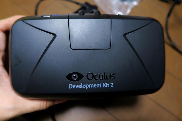 Oculus Rift DK2が届いたのでMacBook ProでVRを試してみました