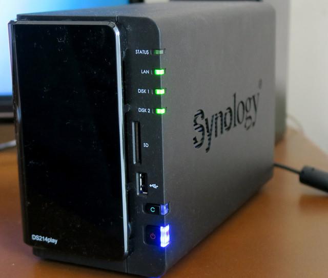 Synology DiskStation DS214play 大切な写真を失わないために セットアップでRAIDの便利さを知る