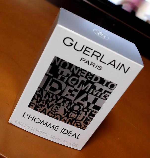 [iWire] GUERLAIN L'HOMME IDEAL 理想の男性という名の香水