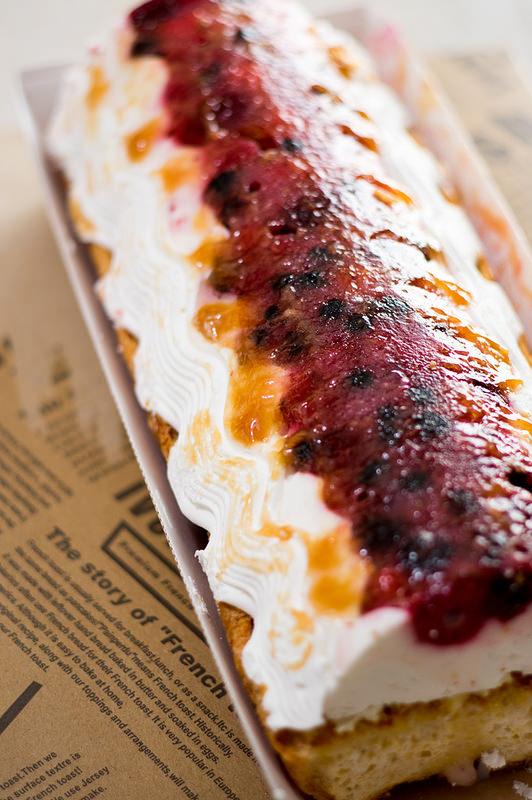 Ivorish ロングビーチ ケーキのようなフレンチトースト