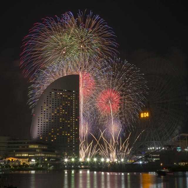 富士フイルムのFBページで花火写真を紹介していただきました
