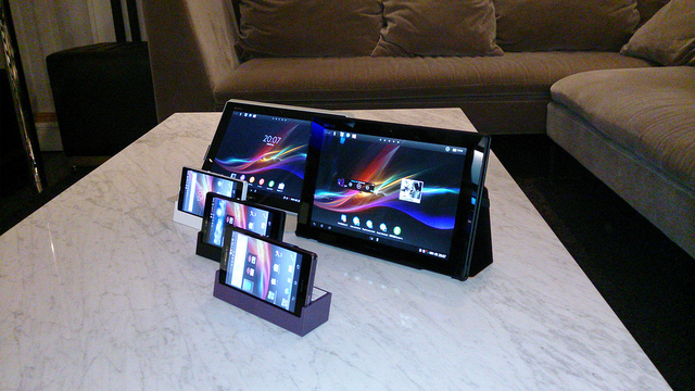 Xperia ZとXperia Tablet Z やっぱりSONYは最高だZを目指すべき