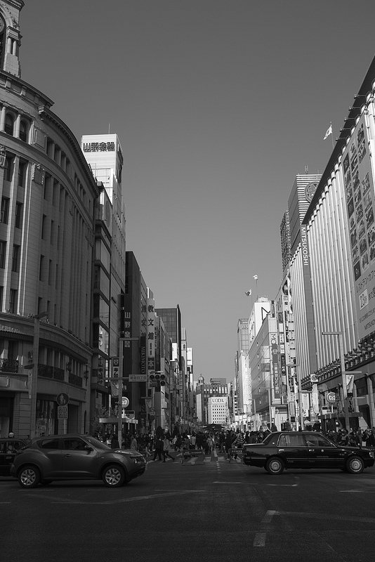 FUJIFILM X100Sと銀座・日比谷散歩