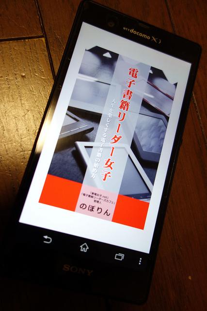 ブロガー仲間が電子書籍で出版した「電子書籍リーダー女子」を読みました