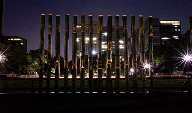 日比谷公園 110周年記念 日比谷アカリテラス2013