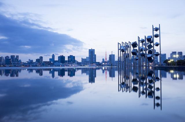 Symmetric Scenery @ Harumi Pier