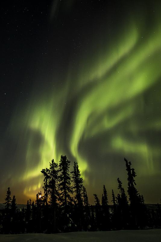 カナダでオーロラと星空と空からの大自然をまるごと撮影したい!
