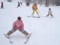 志賀高原スキーでアクシデント