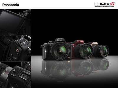 動画対応一眼Panasonic LUMIX DMC-GH1, 高速連写&パノラマSony DSC-HX1