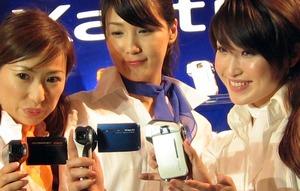 SANYO Xacti メディア向け新商品発表会に潜入