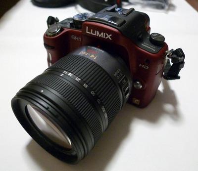 ボケ味のあるHD動画が撮影できる LUMIX DMC-GH1 届きました