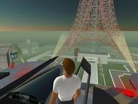 Second Lifeで東京タワー見物
