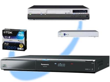 RD-X6,RecPot MのHD録画番組をBDへ保存 DMR-BW800