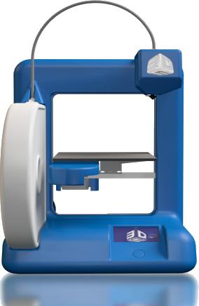 家庭用3DプリンターCubeと3DクラウドサービスCubify.com