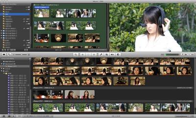 MacでD-movieを簡単編集&公開 Nikon D90