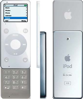 iPod携帯