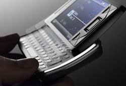 Sony Ericssonスマートフォン XPERIA X1