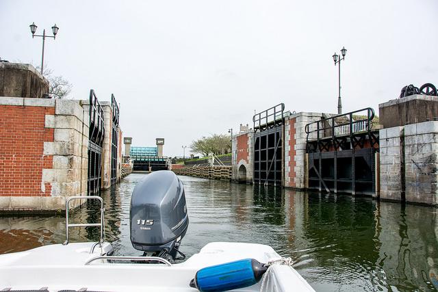 水郷佐原クルージング レンタルボートでチャレンジする水門はRPG感覚