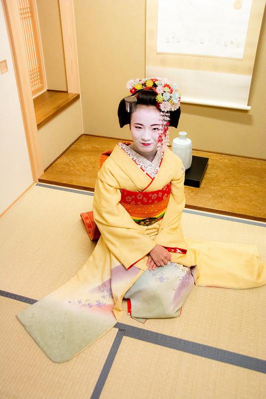京都で舞妓変身体験