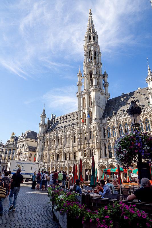 美しい建造物が絵になる ベルギー ブリュッセル #ユーレイル