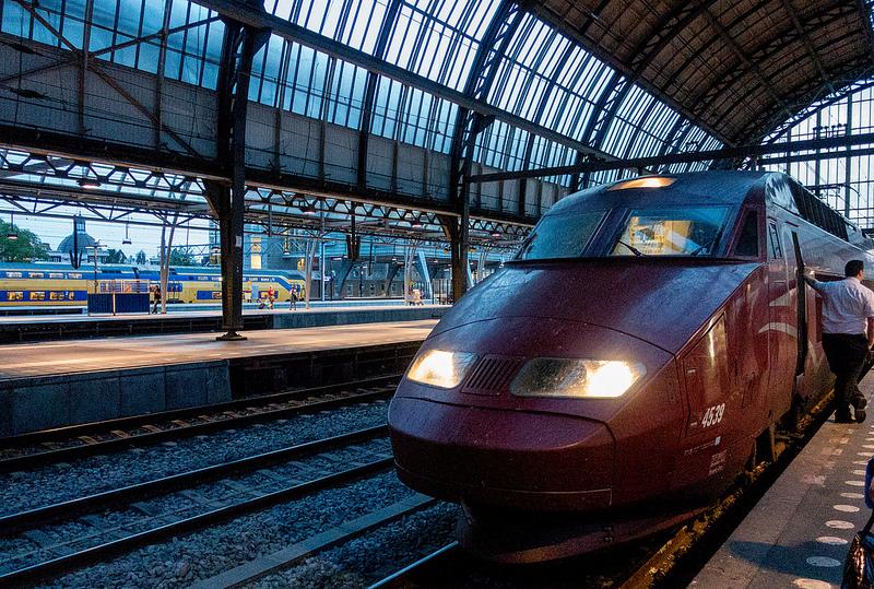 フランス・ベルギー・オランダ間の移動に便利な高速列車Thalys #ユーレイル