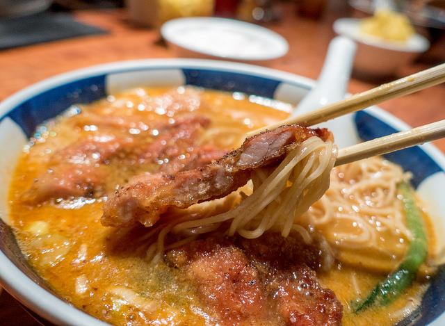 銀座 支那麺はしご 排骨担々麺