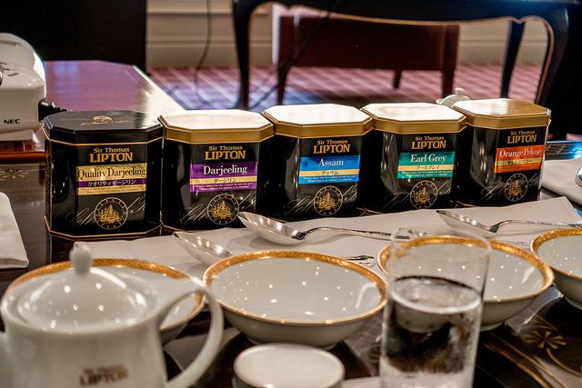 紅茶のブレンドで自分好みの味を楽しむ Sir Thomas LIPTON紅茶体験セミナー