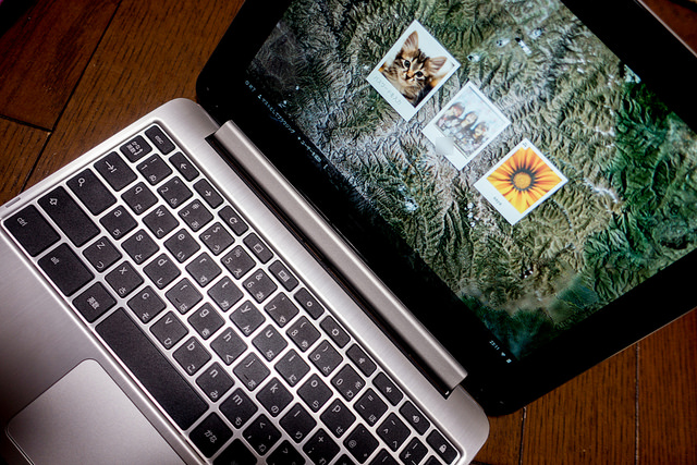 高セキュリティのマルチユーザ環境で家族で共有するのに便利 ASUS Chromebook Flip C100PA #ASUSJP_chromebook