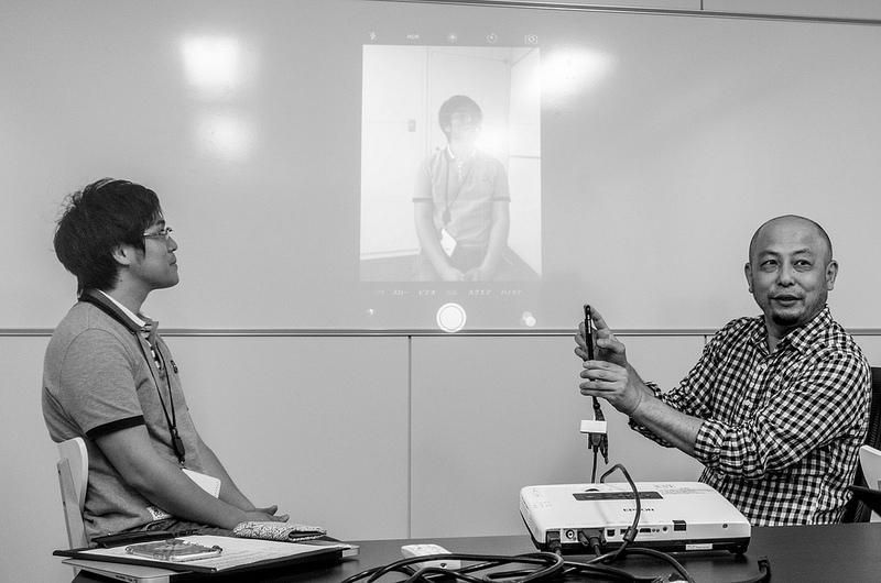 写真家三井公一氏よりスマートフォンでの撮影について学ぶ 第4回AMNブロガーレベルアップ講座