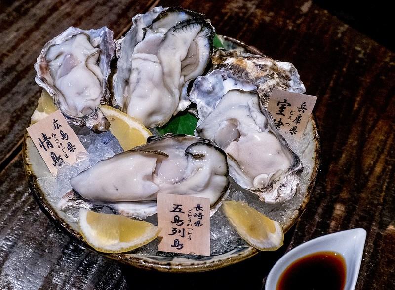 立川で牡蠣や海鮮そして肉と日本酒を楽しむ 一砂 立川