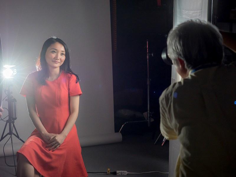 美人に写す撮影WS 兼本玲二先生からスタジオでの定常光ライティングについて学んできました