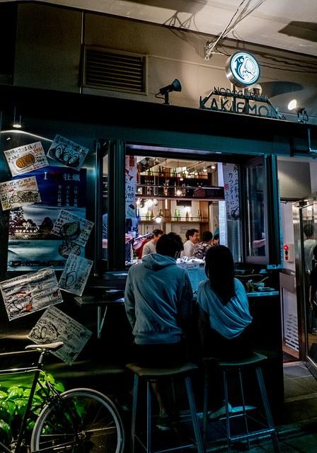 牡蠣とのどぐろと日本酒を満喫 中目黒 NODOGUROYA KAKIEMON