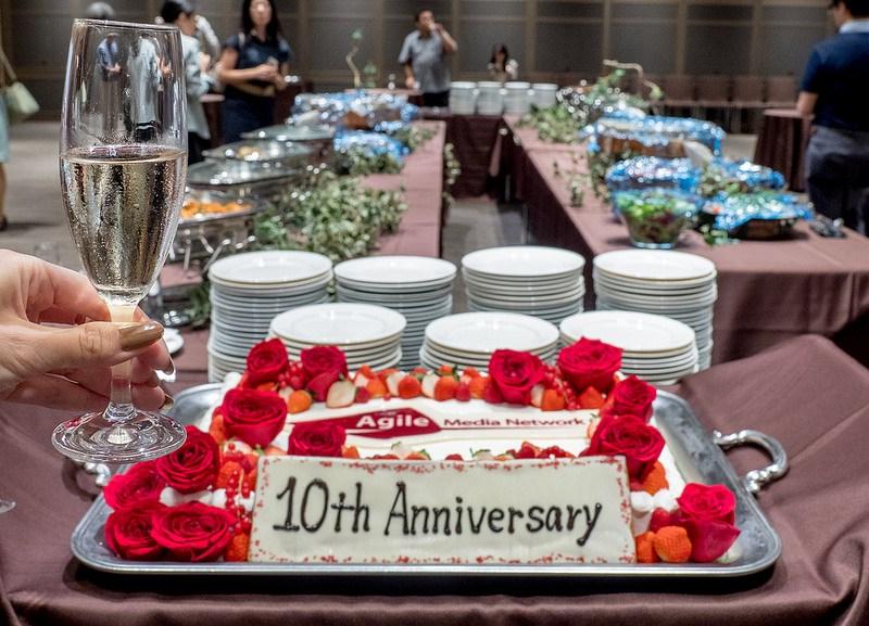 #AMN10周年 記念パーティー