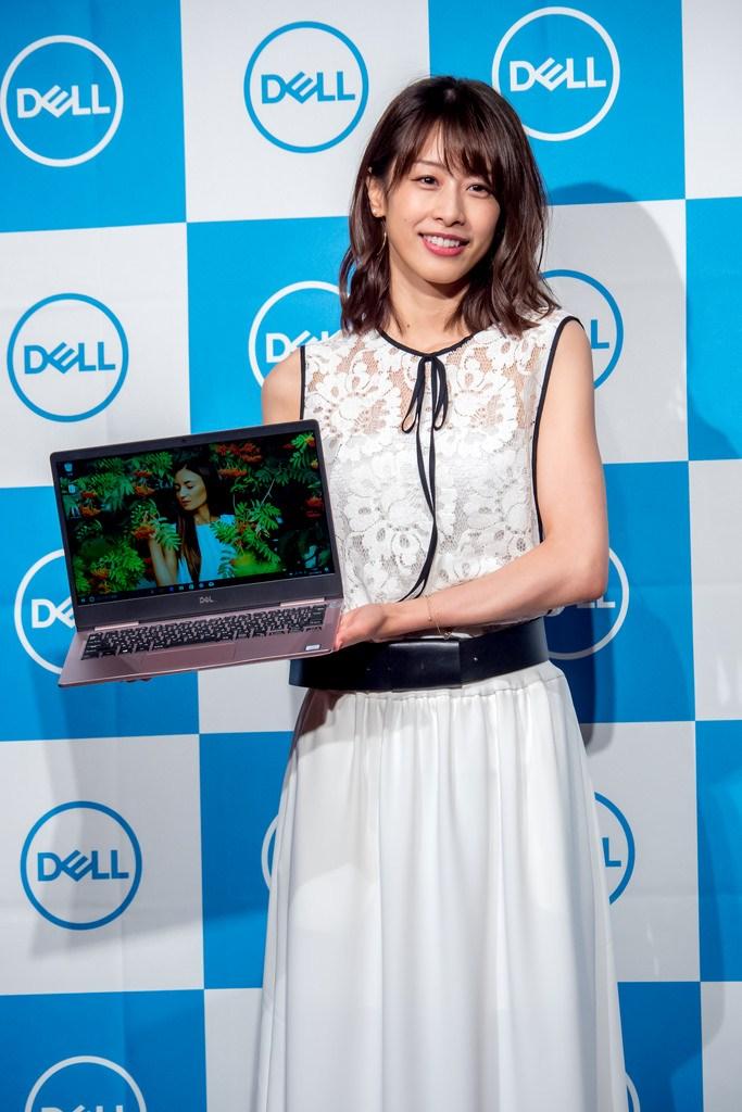 加藤綾子アナも登場 最高のエンターテインメント体験を #DELL 新商品発表会