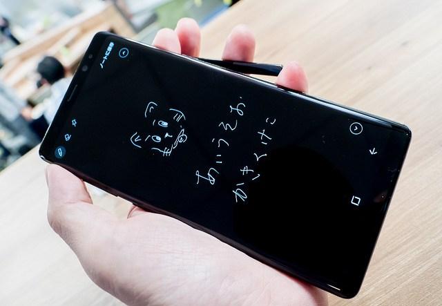 思いついたらペンを抜け by 山根博士 Engadget Galaxy Note8 降臨祭 #GalaxyNote8 #fes