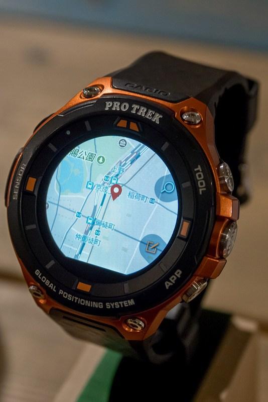 簡単に現在地の地図を表示できるスマートなアウトドアツール CASIO PRO TREK Smart WSD-F20 #アウトドアアンバサダー #プロトレックスマート