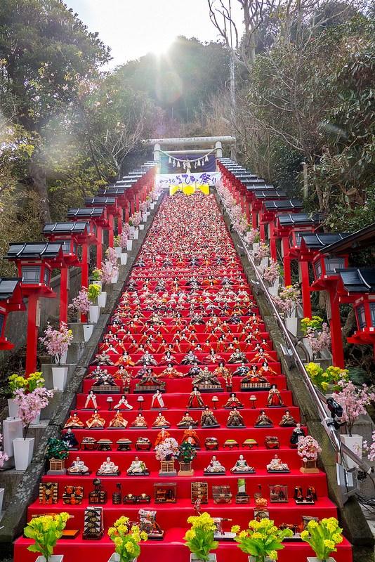 勝浦の街を埋め尽くす圧巻の雛人形 かつうらビッグひな祭り #ひなまつり