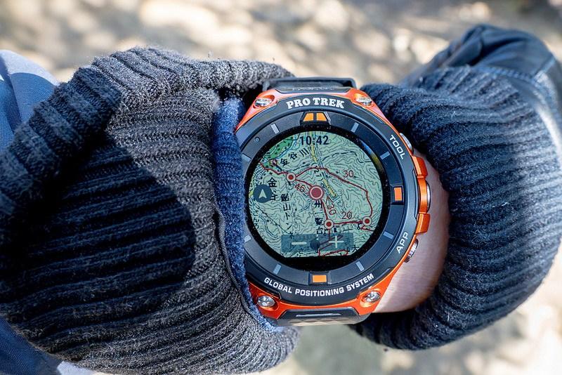 千葉のラピュタ 鋸山ハイキングで使ってみた CASIO PRO TREK Smart WSD-F20 #アウトドアアンバサダー #プロトレックスマート