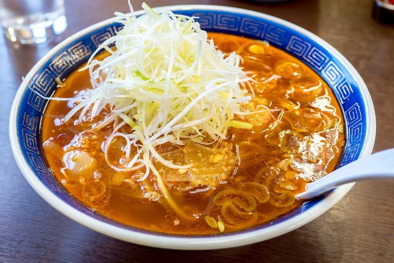 江ざわ 勝浦タンタンメン発祥の店で旨辛担々麺