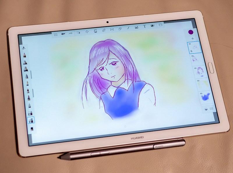 良い音と綺麗な画面とペン入力が魅力のタブレット HUAWEI MediaPad M5 Pro  #HUAWEIタッチアンドトライ