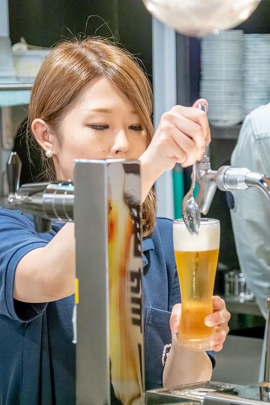 東京最速で一番搾り極上生認定獲得 真のビールの美味しさにこだわる 新橋酒場 酒津屋