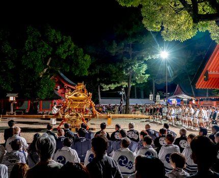 大阪三大夏祭り 住吉祭の宵宮祭を観てきました
