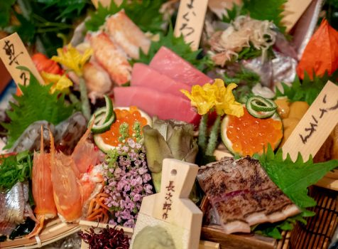 鮮魚鬼盛り 半端ない 番屋 神田駅前店