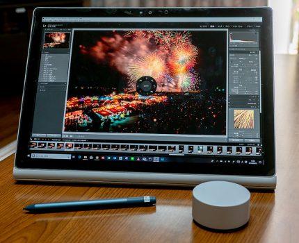 Microsoft Surface DialをPhotoshop, Lightroom, YouTube, TVer, Amazon Videoなどに使ってみた #Surfaceアンバサダー